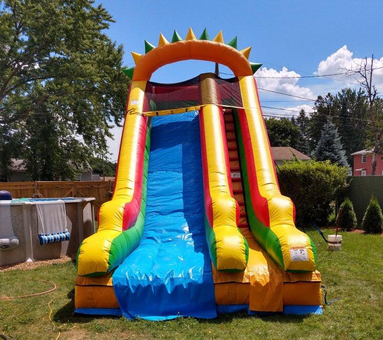 18 foot DRY Slide