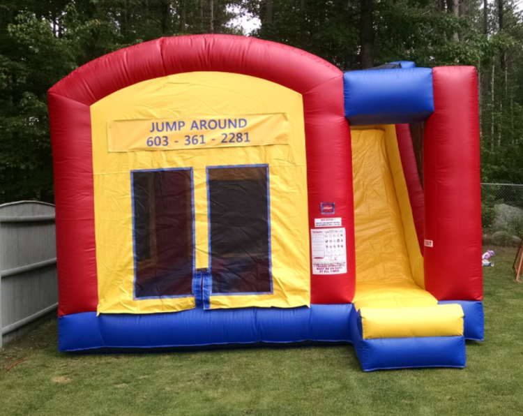 Slide Bounce House Combos