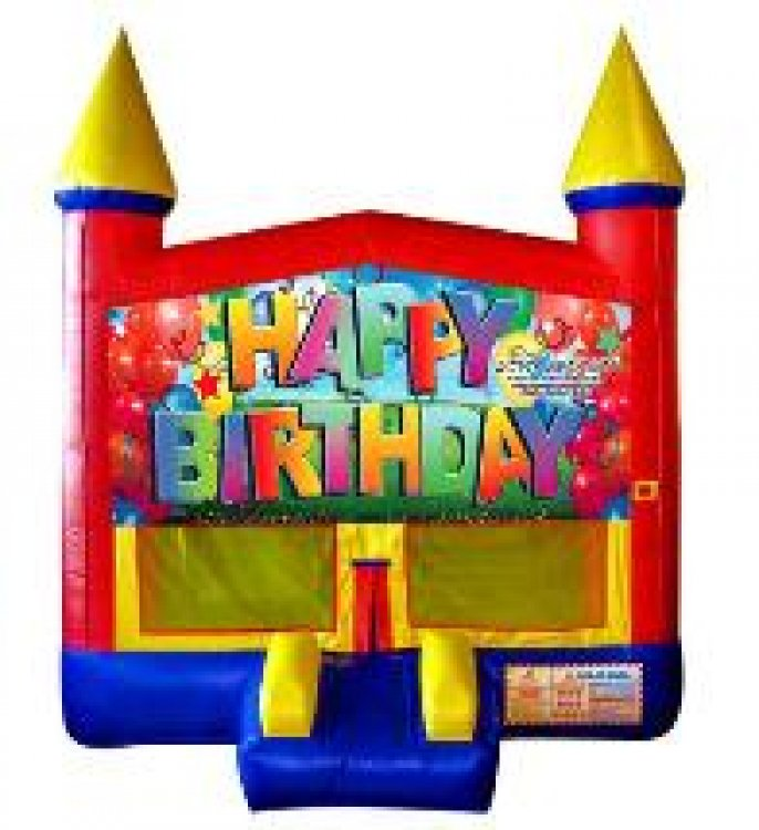 Happy Birthday Banner Standard Modular w/Hoop