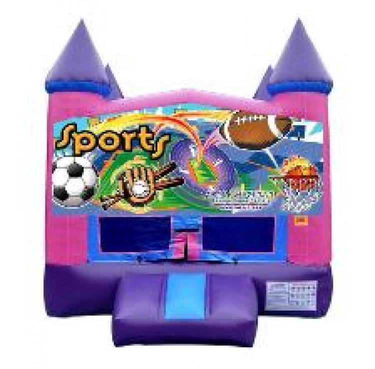 Sports theme Purple Modular w/hoop